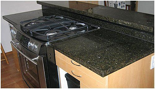 Peel And Stick Granite Countertops : Peel and stick granite look update black counter top film