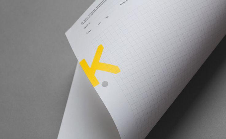 K. Apeland by Bielke&Yang, Norway. #branding #stationery #letterhead