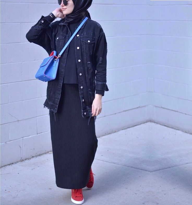 Love the jacket from this modest look