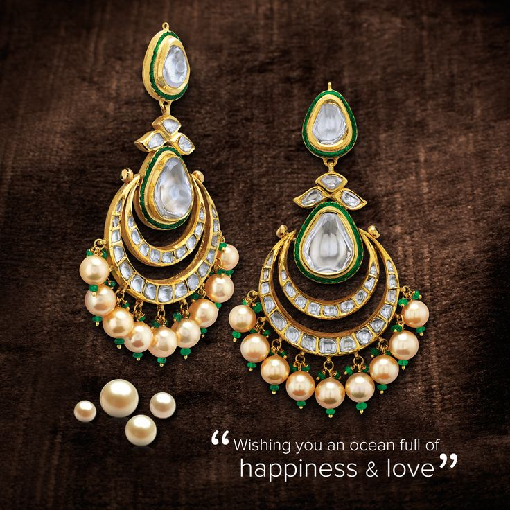 Conjured from the depths of the sea, Pearls bring calm and good vibes into our lives. This Diwali, brighten the lives of your loved ones with Rose. To browse through our collection and book an appointment, head here - http://bit.ly/SayItWithRose #SayItWithRose