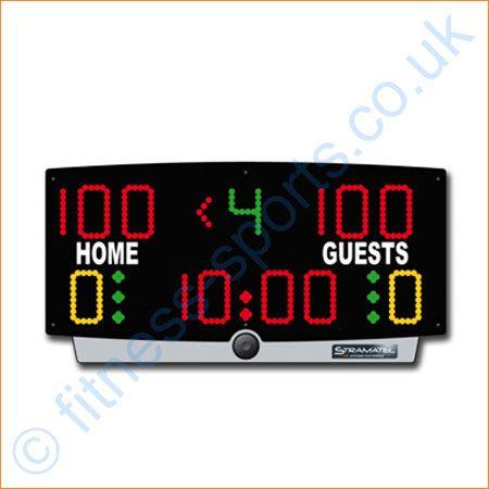 LED basketball 12v - 240v table top electronic scoreboards