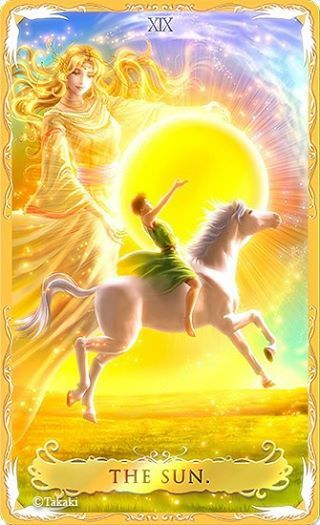 Tarot Card Interpretation & Meaning - The Sun