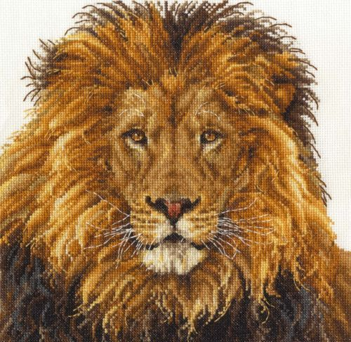 DMC-Counted-Cross-Stitch-Kit-Lions-Pride