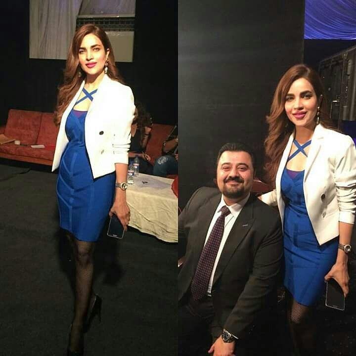 @humairaasgharaliofficial #AhmedAliButt #ButtSahab #Dulux #Launch #Lahore #Avari #LadyInBlue #Bloggers #Media #Fashionista #HumairaAsgharAli spotted in Hina Salman 's & GRANDEUR creation #earrings #grandeur #grandeurjewellery #grandeurindia #hinashpret #glitzandglam #jewellery #jewelrytrends #craftedforeternity #designlovers #instastyles #instajewellery #hautejoallerie #royaljewellery #luxuryjewelry #jewelry #luxurygarments  #jewellerygram #jewelleryblog