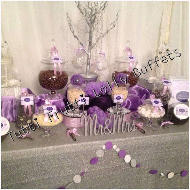 Mauve Lolly Buffet