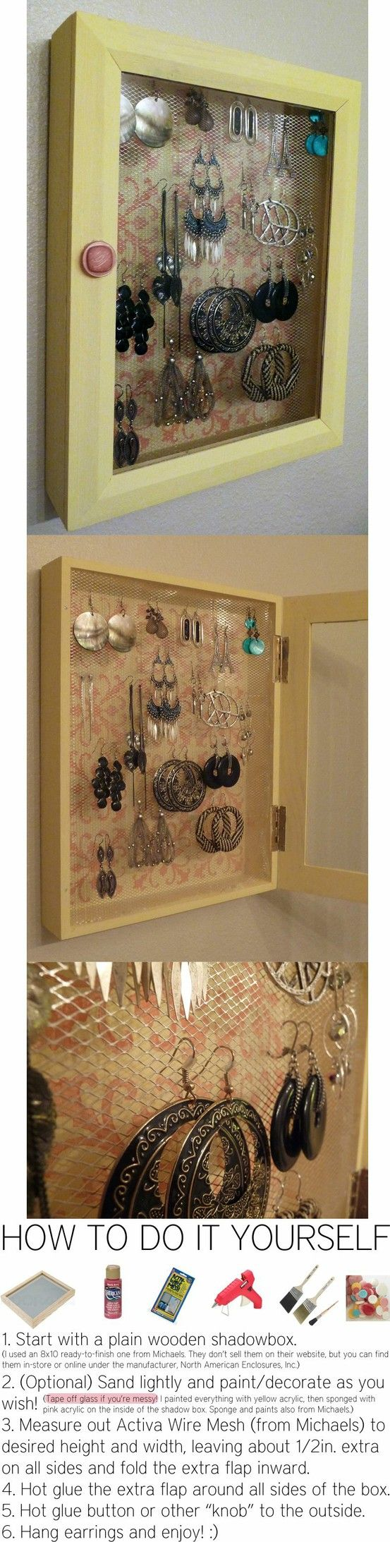 186 best diy jewelry displays images on pinterest jewelry displays 186 best diy jewelry displays images on pinterest jewelry displays bricolage and jewelry holder solutioingenieria Images