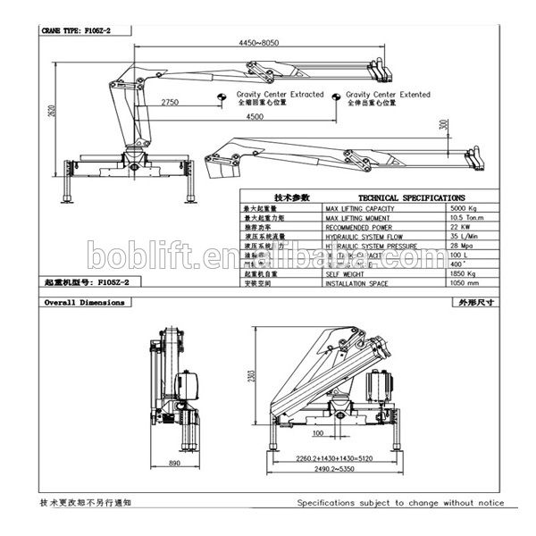The Hydraulic Crane Is Used To Lift The 1400 : Best ideas about truck mounted crane on