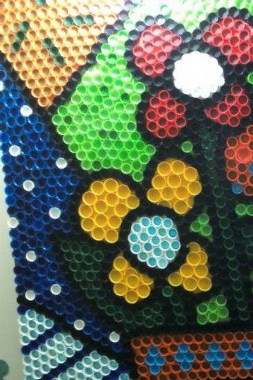 artesanato com tampas plasticas - Pesquisa Google