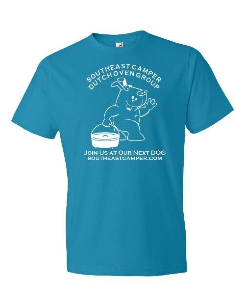 Tee Shirts for our Camping and Cooking Club. Southeastcamper.com