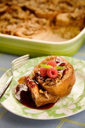 Baked french toast casserole: Breakfast, Food, Casseroles, Recipes, Yummy, Baked French Toast, Lighter Baked, French Toast Casserole, Paula Deen