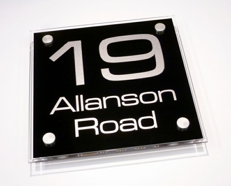Needing A Large Number for your Home... The Large Square House Sign is a great size to fit most properties and a perfect size to add large numbers to be seen from the road side. http://www.de-signage.com/modern-house-signs-large-square.php