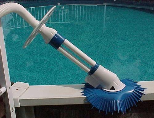 Hook up above ground pool vacuum