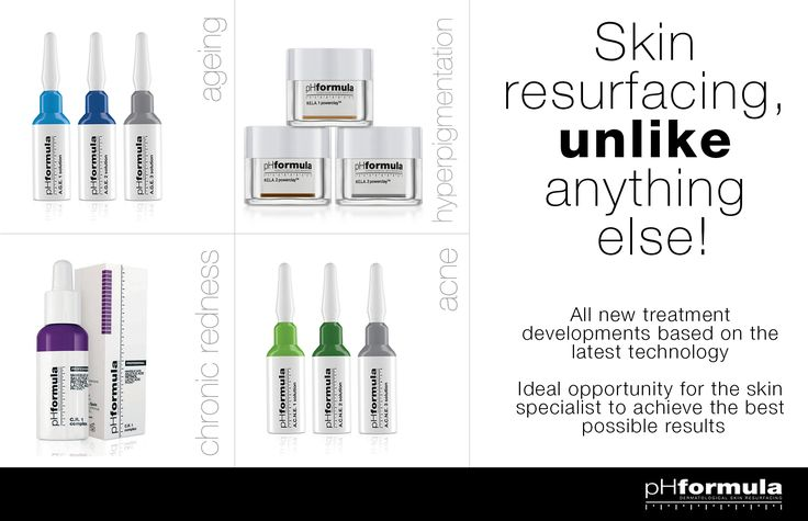 All new pHformula treatment developments are based on the latest technology in regenerative medicine, and, unlike anything else that has been introduced to the professional skincare market, give the ideal opportunity to skin specialists in achieving the best possible results. #antiaging #treatments #resurfacing