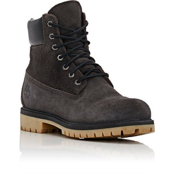 """Timberland Men's BNY Sole Series:\""""6-Inch\"""" Boots (730 BRL) ❤ liked on Polyvore featuring men's fashion, men's shoes, men's boots, men's work boots, mens work boots, timberland mens work boots, timberland mens boots, mens boots and mens lace up boots"""