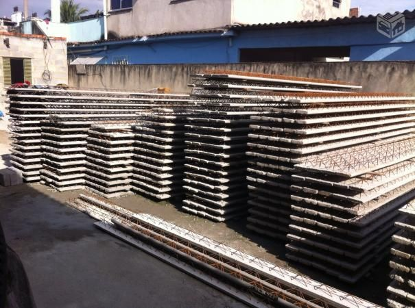 Lajes pré-fabricada Isopor ou Tijolo - R$24