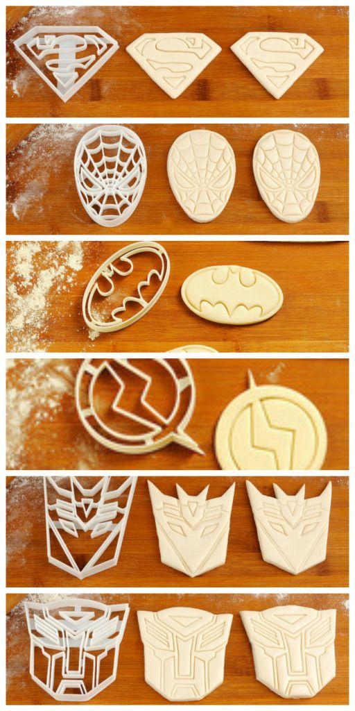 Fabuleux Best 25+ Superhero cookies ideas on Pinterest | Spiderman cookies  PI74
