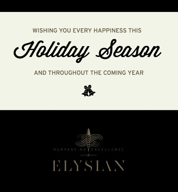 Have an Elysian Holiday Season