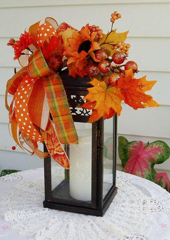 Caer la linterna botín botín de otoño linterna por DeliaKateDesigns
