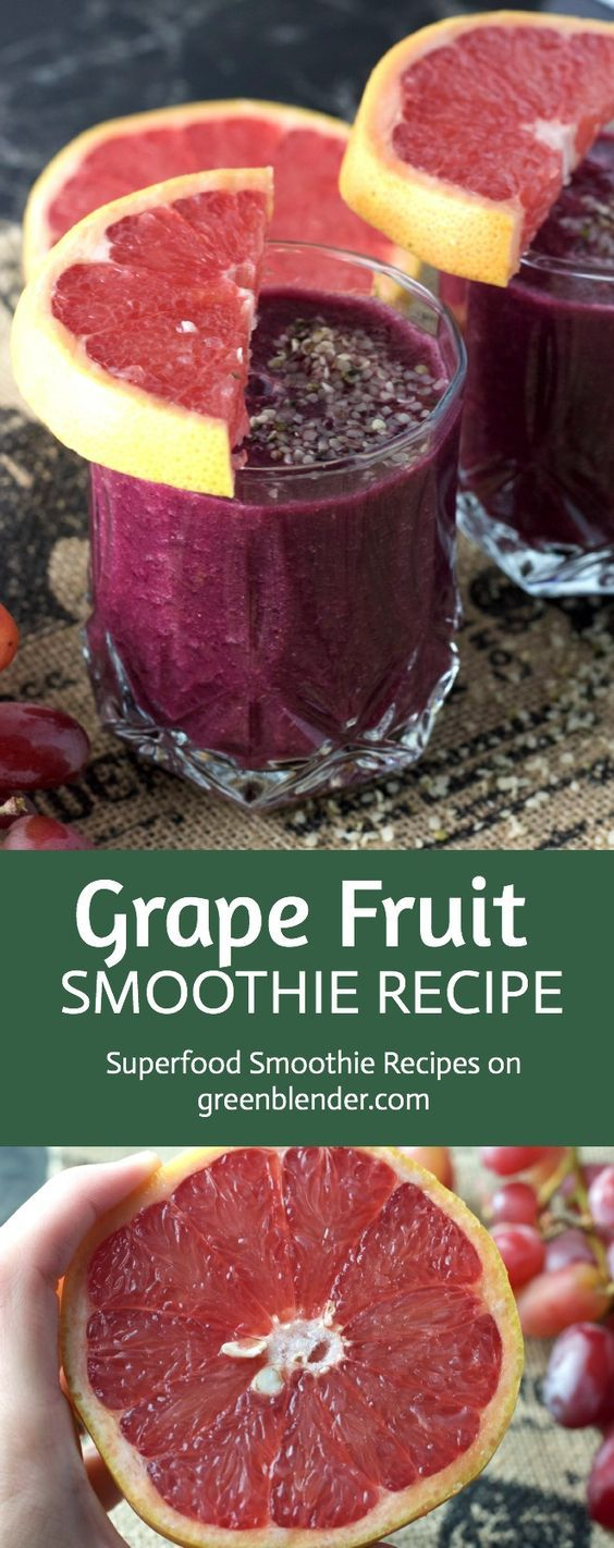 Thanksgiving wouldn't be complete without a light, refreshing breakfast before the big meal. If you're looking to start off a busy morning with a burst of tart sweetness, not to mention a bunch of energizing nutrients like vitamin C and Omega-3s, this smoothie is for you. Both grapes and acai berry powder contain a strong dose of antioxidants, and acai powder is also full of fiber and those helpful Omega-3s. Another source of Omega-3s, hempseed will keep you full and satisfied with its good…