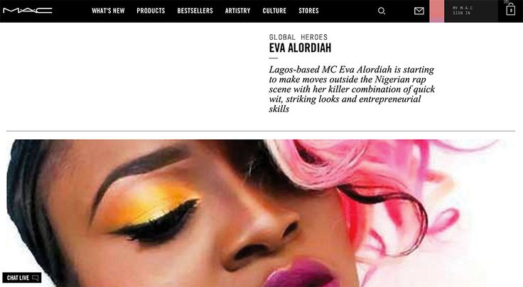 A look at the new MAC Cosmetics website Culture section, which will be a like a weekly blog with interviews and features about the world of MAC.