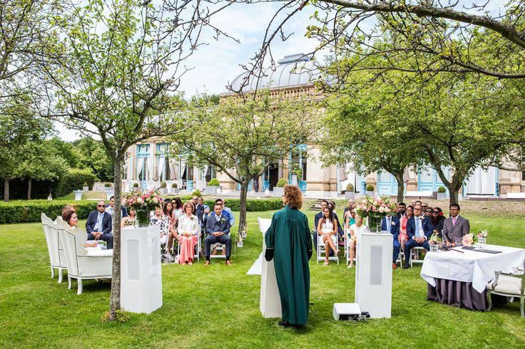 Bruidsfotografie bij Orangerie Elswout door Bruidsfotograaf Dario Endara Wedding Photography
