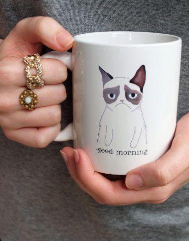 I want it.  Ceramic Mug from a Grumpy Cat