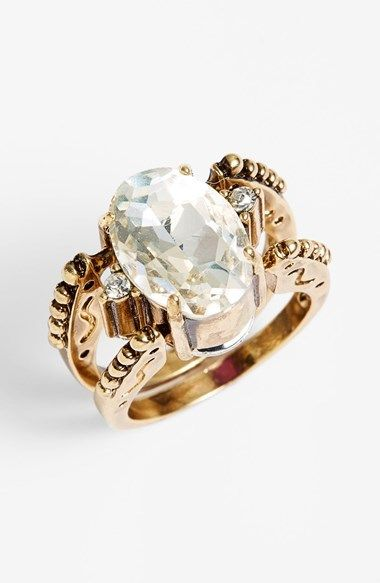 Topshop Reversible Crystal Ring on shopstyle.com