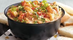 Try a taste of New Orleans with this Creole flavored hot crawfish dip — a great seafood appetizer that takes only 30 minutes.