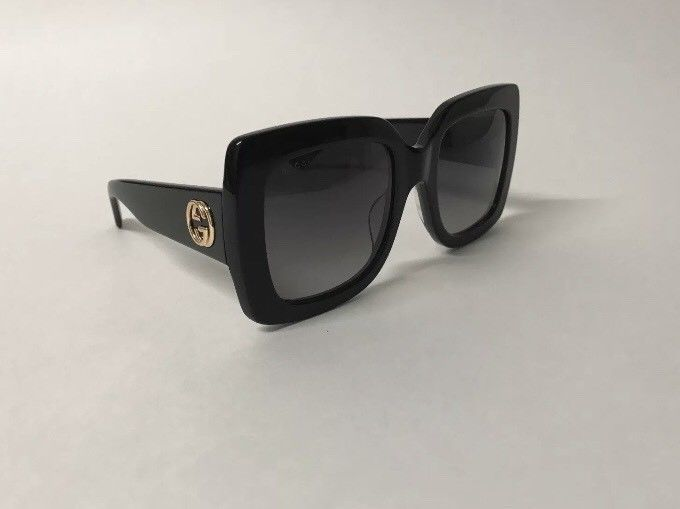1f98bd40f28 Gucci GG0083S Black Gradient Lenses Oversize Sunglasses Authentic  fashion   clothing  shoes  accessories  womensaccessories   sunglassessunglassesaccessories ...