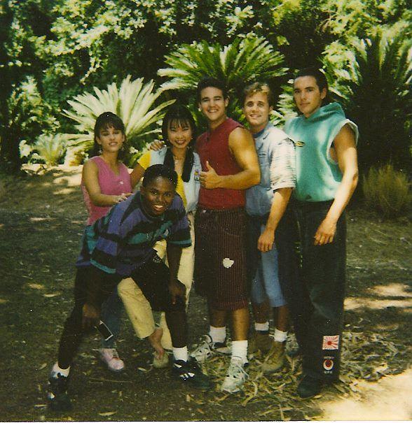 Mighty Morphin Power Rangers Old School. via: https://www.facebook.com/jasondfrank