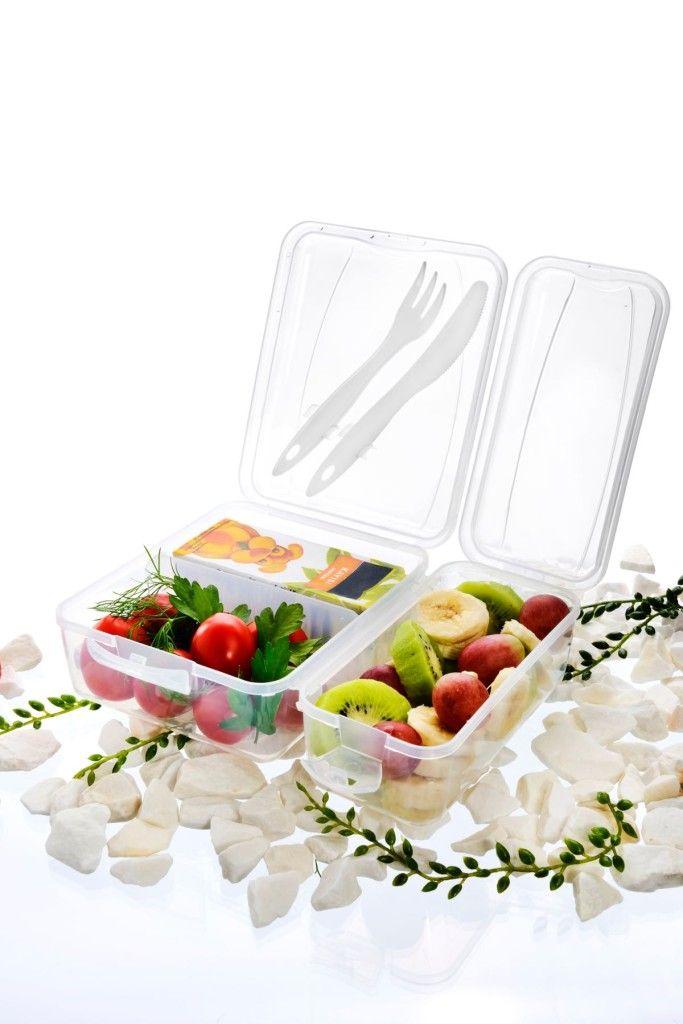 Praktische Lunchbox mit Besteck / Practical Lunchbox with cutlery   Titiz Plastik   Ambiente 2016   TOP FAIR Blog