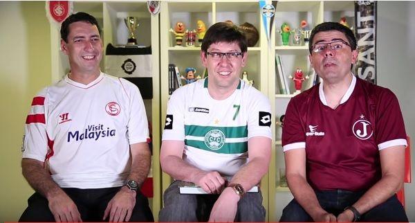 Trio do 'Loucos por Futebol' estreia 'Tresloucados' no Youtube; veja o episódio 1