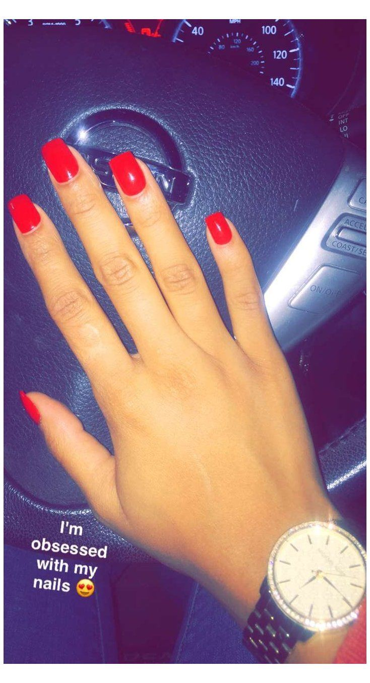 Short Acrylic Nails Red Shortacrylicnailsred Big Red Apple Acrylic Nails In 2020 Short Red Nails Red Acrylic Nails Short Acrylic Nails
