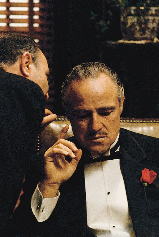 """I'm gonna make him an offer he can't refuse."" The Godfather (1972)"