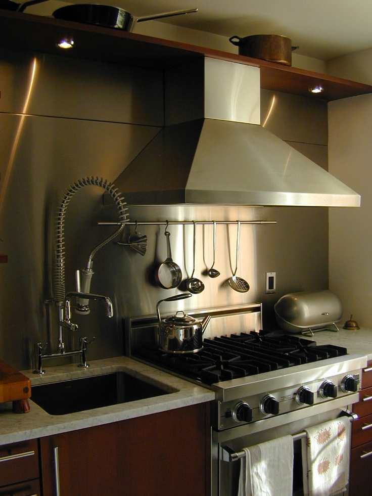17 best images about range hoods on pinterest house Kitchen backsplash ideas stainless steel