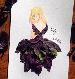 zhannadesignfromart: фиолетовое платье