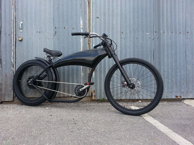 """Dark Street Electric Bike This line of bikes has married the best of Marty Schlesinger's Voltage Cycle and the Sportsman Flyer, which hearken back to the """"Golden Age"""" of cycling. Board Track Racer We"""