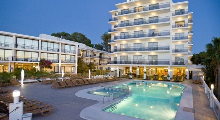 Bellamar Hotel Beach & Spa San Antonio The Bellamar offers indoor and outdoor swimming pools, and a spa with gym. The hotel is set next to Ibiza's San Antonio Bay, just 50 metres from Es Pouet Beach. Free WiFi is provided.  The hotel is near the seaside promenade.