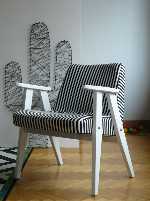 """366"" chair by J. Chierowski/ DIY project"