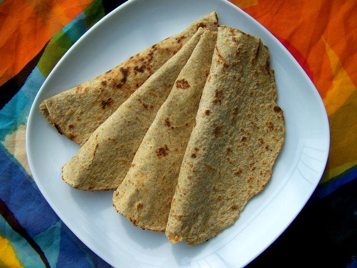 Koolhydraatarme tortilla wraps, veganistisch, zonder ei