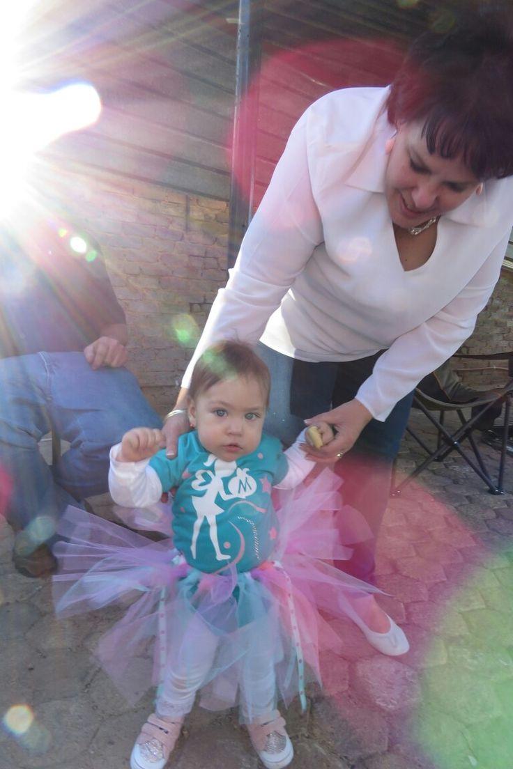 Mianey 1st Birthday #diyparty #tutu #vinyl #silhouette #1stbirthday #kidsparty #springideas