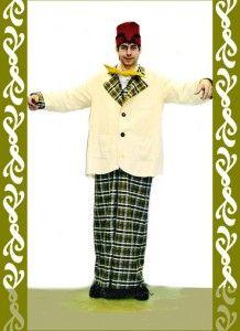 kostým velký klaun, půjčovna Ladana