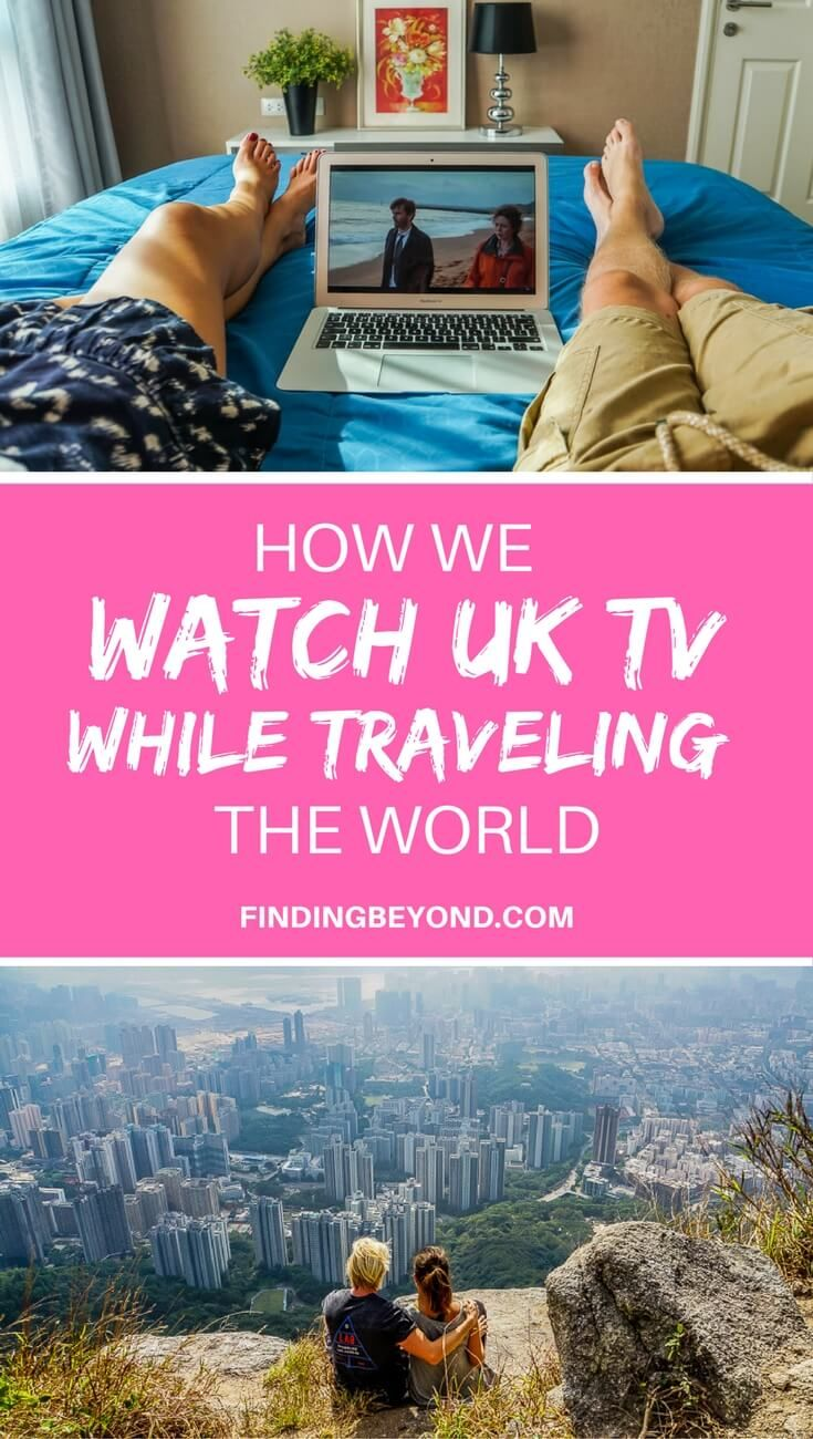 Do you want to know how to watch your favourite UK TV shows while in another country? Read this article to find out how we do it and how you can too! #rtwtrip #travel #bestoftravel #bestintravel #traveltips #travelapps #travelprep #travelhacks #travelmore #backpacking #travelon #traveltheworld #VPN