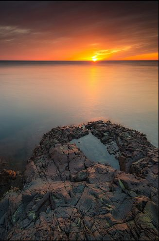Sunset Point Sault Ste Marie, Ontario by Bryan O'Toole