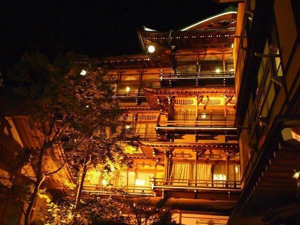 【長野県】渋温泉金具屋。 映画「千と千尋の神隠し」のモデルの老舗旅館 pic.twitter.com/wPqvjND44v  ここ前に夢の中に出てきました