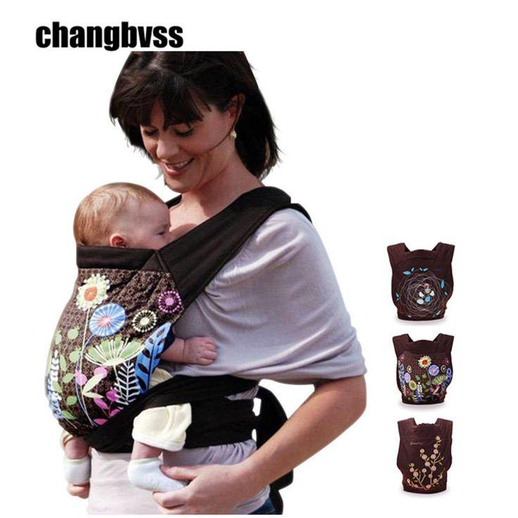 New Fashion Baby Carrier Ergonomic Baby Sling High Quality Baby Backpack Floral Print Infant Hipseat mochila infantil manduca