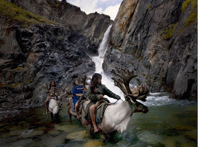 Hamid Sardar-Afkhami photographs reindeer-riding tribespeople (Dukha) in Mongolia