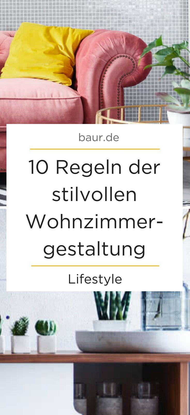 Wohnzimmer Einrichten 10 Regeln Der Stilvollen