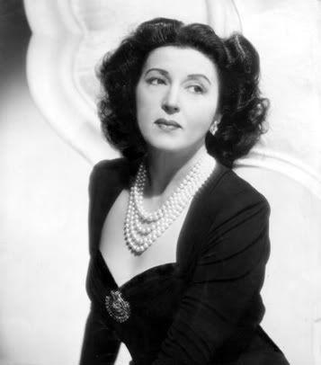 Greek actress Katina Paxinou (1900-1973)