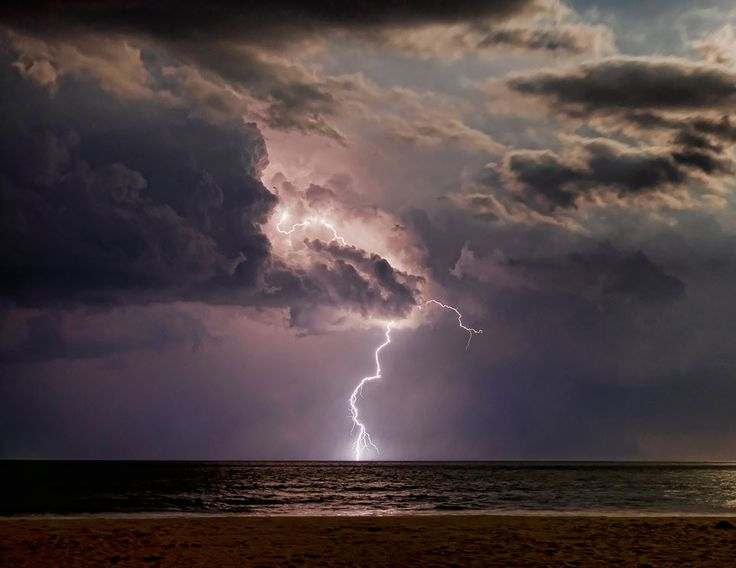Beach And Ocean Storm: Planet Earth & Beyond
